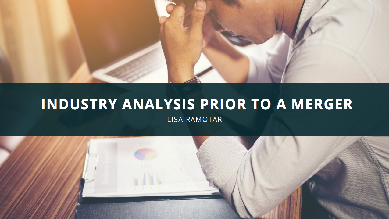 Lisa Ramotar Discusses Industry Analysis Prior to a Merger